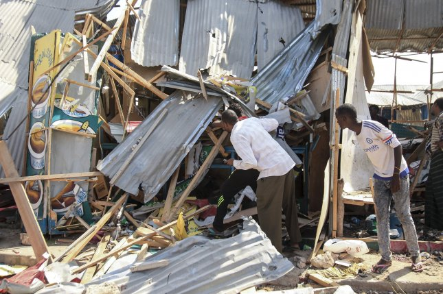 At least 14 killed in Mogadishu market blast