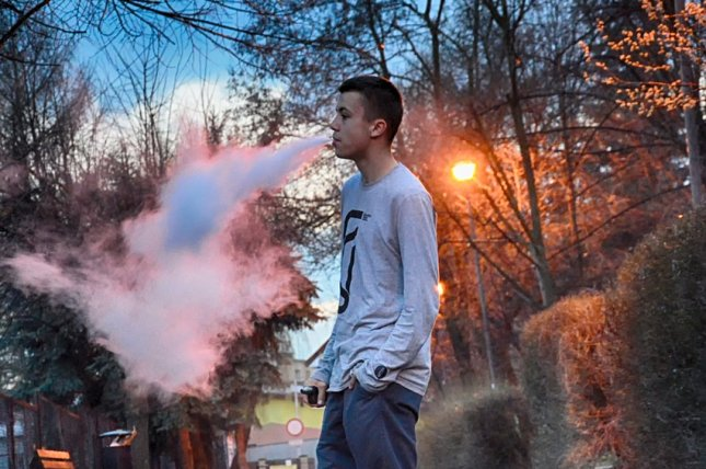 Researchers have not pinpointed the ingredient, substance or combination of substances that led to an outbreak of the newly named e- cigarette or vaping product use-associated lung injury. Photo courtesy of Pixabay