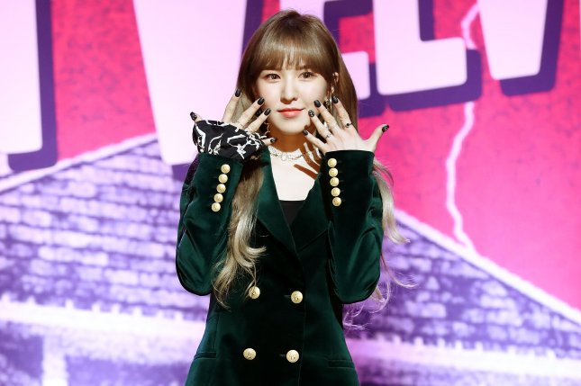 Wendy will voice Poppy in the Korean version of Trolls World Tour, which features Red Velvet as K-pop Trolls. File Photo by Yonhap News Agency/EPA-EFE