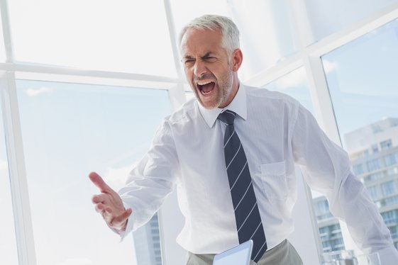 Researchers found that hostility was an independent predictor of dying from a second heart attack after adjusting for other factors. Photo by wavebreakmedia/Shutterstock