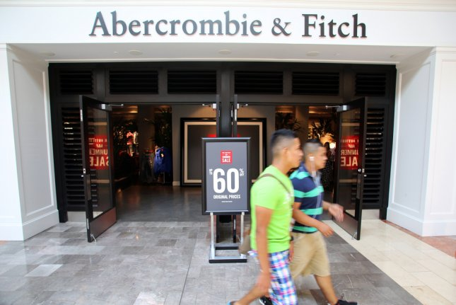 Shoppers walk past an Abercrombie & Fitch retail clothing store in Paramus, New Jersey on July 9, 2013. Photo by Northfoto/Shutterstock