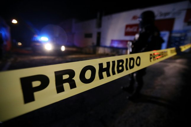 The Mexican navy said the suspected gang members opened fire on marines patrolling in Mexico City. File Photo by Ulises Ruiz Basurto/EPA