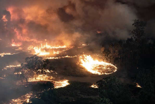 Australian police say that seven people have died due to raging bushfires since Monday. Photo courtesy of state government of Victoria/EPA-EFE