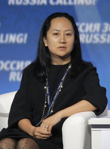 Huawei CFO Meng Wanzhou attends an investment forum four years ago in Moscow. Meng was arrested in Canada on Dec. 1 at the request of U.S. authorities and the charges against her were revealed at a bail hearing Friday. Photo by Maxim Shipenkov/EPA-EFE