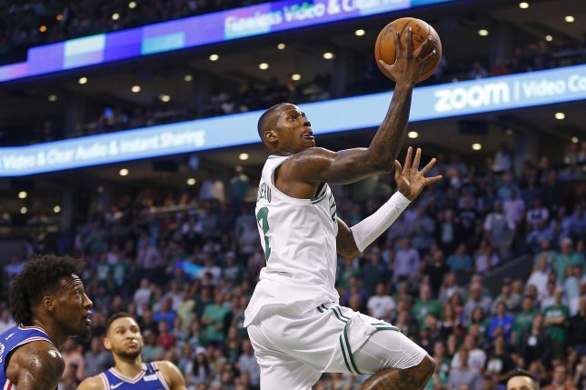 Terry Rozier and the Boston Celtics play host to the Cleveland Cavaliers on Friday night. Photo by C.J. Gunther/EPA-EFE/Shutterstock