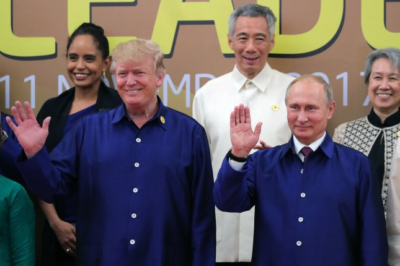 Trump: Putin said Russia didn't meddle in 2016 election