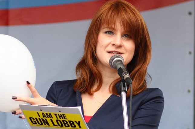 Freed from custody Friday, Maria Butina is now expected to be deported to Moscow. File Photo by Press Service of Civic Chamber of the Russian Federation/EPA-EFE