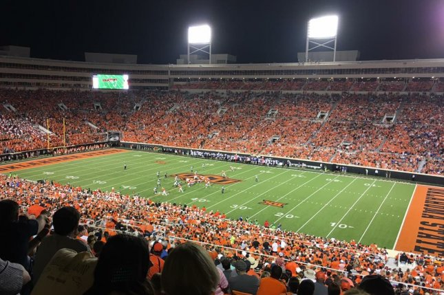 Boone Pickens Stadium will remain host for the Oklahoma State Cowboys' rescheduled season-opener against the Tulsa Golden Hurricane on Sept. 19 in Stillwater, Okla. Photo courtesy of Wikimedia Commons
