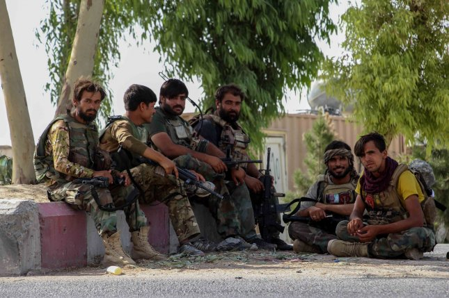 Pentagon spokesman John Kirby said Thursday that the United States has launched airstrikes against the Taliban to support Afghan forces in the last several days. File Photo by M. Sadiq/EPA-EFE