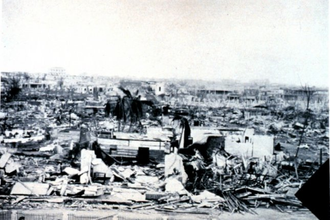 On September, 3, 1930, a Category 4 hurricane struck the Dominican Republic, killing at least 2,000 people, though some estimates put the death toll much higher. File Photo courtesy NOAA