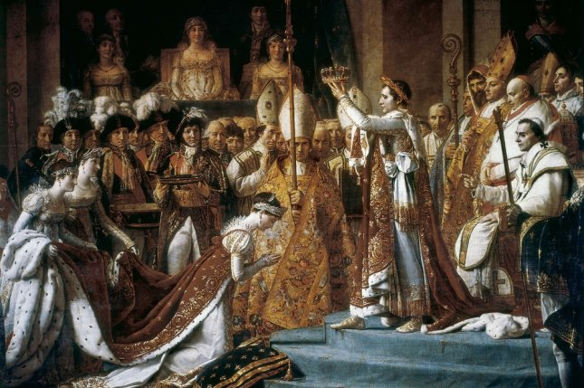 David, Jacques-Louis (1748-1825), The Consecration of the Emperor Napoleon and the Coronation of the Empress Josephine 