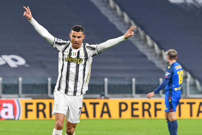 Juventus striker Cristiano Ronaldo (pictured) needs just one more goal to tie Josef Bican's record for the most official goals in soccer history. Photo by Alessandro Di Marco/EPA-EFE