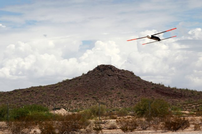 Raytheon's Coyote unmanned aerial vehicle has been adopted by the Navy for use in the LOCUST program. Photo courtesy of Raytheon