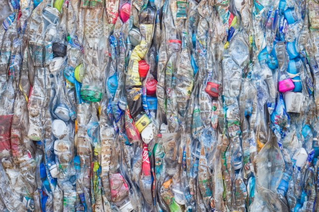 Crushed plastic bottles. Photo by nanD_Phanuwat/Shutterstock