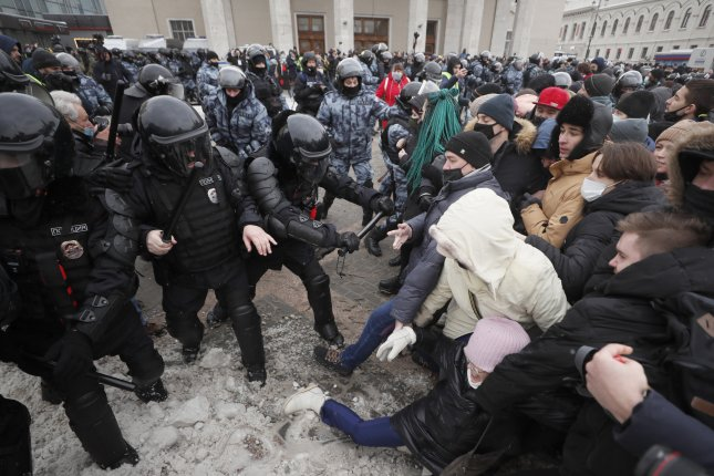 Thousands were arrested in Russian Federation after the Sunday demonstrations