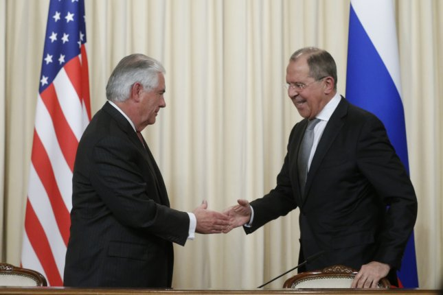 Tillerson Seeks 'Open, Candid, Frank Exchange' With Lavrov In Moscow