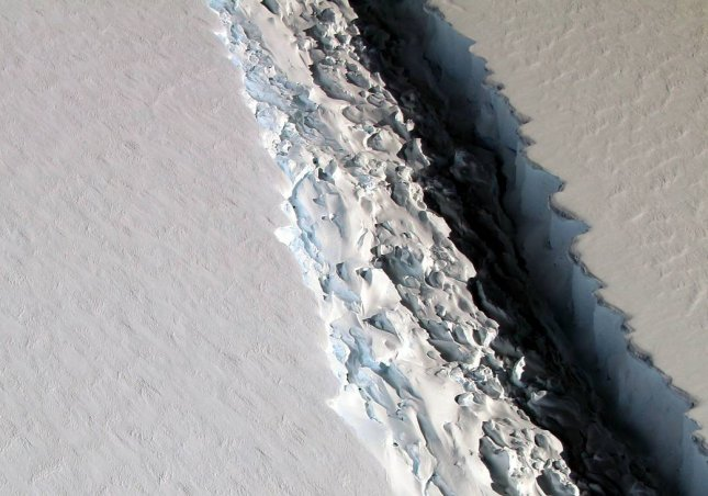 A crack in the Antarctic ice another sign of a warming planet