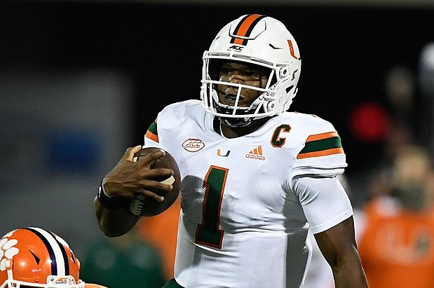 Miami Hurricanes QB D'Eriq King signs NIL deal with NHL's Florida Panthers
