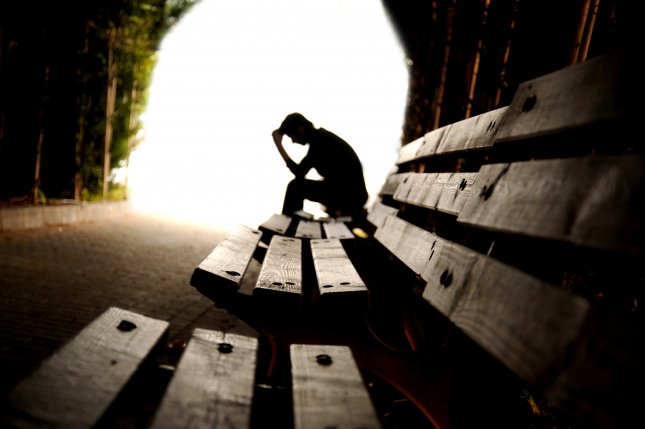 Depression levels rose to nearly 15 percent among people born between the early 1990s to 2000, while self-harm rates increased to 14 percent. File Photo by hikrcn/Shutterstock