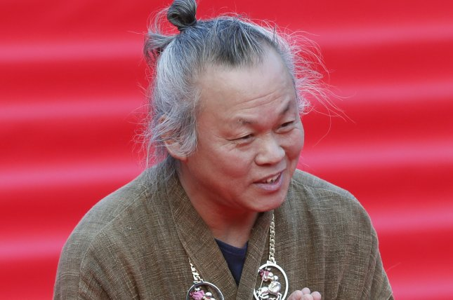Award-winning South Korean film director Kim Ki-duk has died due to complications from COVID-19, his family confirmed Friday. File Photo by Maxim Shipenkov/EPA-EFE