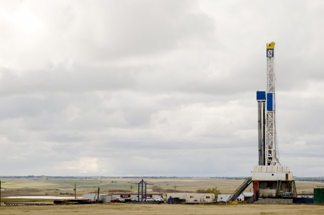 The number of rigs engaged in exploration and production in North Dakota was down more than half from last year. Photo by David Gaylor/Shutterstock