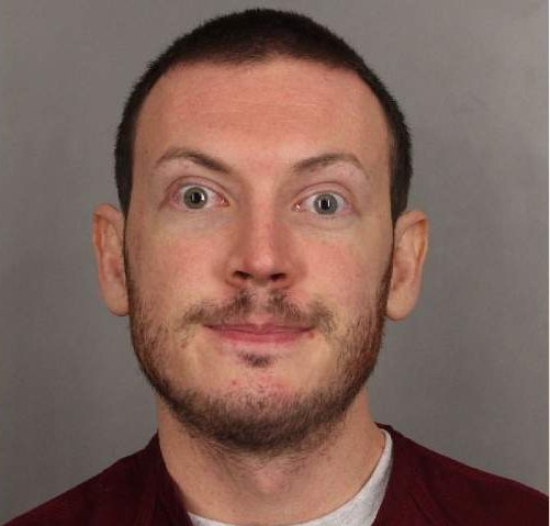 James Holmes, convicted in the 2012 fatal shooting that left 12 dead in a Colorado movie theater, was sentenced to 3,318 years in prison for related crimes. Photo courtesy of Arapahoe County Sheriff's office.