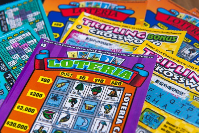 A California man won $1 million from a scratch-off ticket after his wife berated him for buying too many tickets. File Photo by Pung/Shutterstock.com