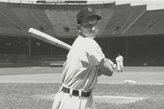 Johnny Groth, who died Saturday in Palm Beach Fla., was an MLB outfielder for the Detroit Tigers, St. Louis Browns, Chicago White Sox, Washington Senators and Kansas City Athletics through the 1940s and 1950s. Photo by the Detroit Tigers