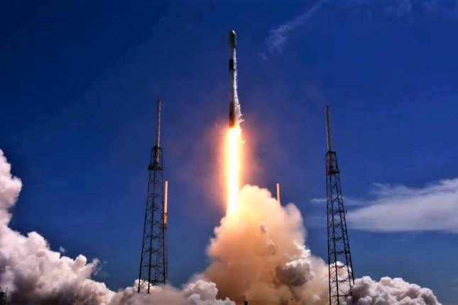 SpaceX's Falcon 9 rocket lifts off from Cape Canaveral Space Force Station in Florida carrying 60 Starlink satellites on May 26, 2021. Photo courtesy of SpaceX
