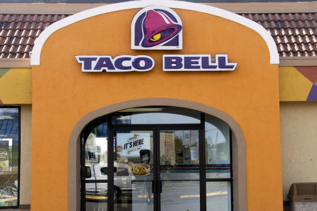 Taco Bell sign on the front of a store. Police in Cedar Rapids, Iowa, said meth lab remnants were found inside a Taco Bell while it was closed for the night. Photo by dcwcreations/ Shutterstock.com