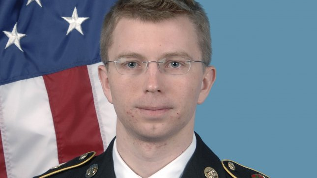 U.S. Army PFC Bradley Manning is seen in this undated U.S. Army file photo. Manning was convicted of violations of the Espionage Act for stealing and releasing the documents, including State Department diplomatic cables, to WikiLeaks. UPI/File