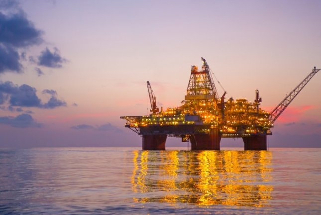 BP plans to expand production in the Gulf of Mexico to 400,000 barrels per day by the middle of the next decade. Pictured is BP's Thunder Horse platfom in the Gulf of Mexico. Photo courtesy of BP
