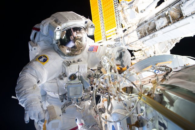 To keep their hearts healthy on the long trip to Mars, researchers say astronauts will need to maintain rigorous exercise schedules. Photo courtesy of NASA