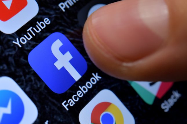 Outages affecting Facebook, Instagram and WhatsApp were concentrated Wednesday in the United States, Europe and South America. File Photo by Sascha Steinbach/EPA-EFE