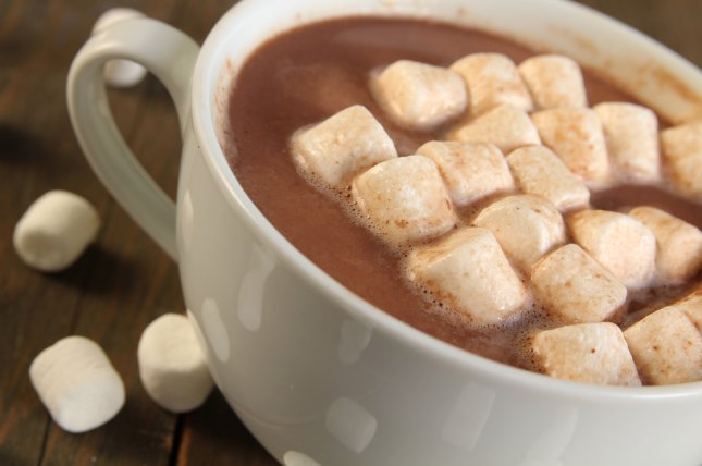 A new study found that flavanol-rich cocoa drinks benefited brain function when compared to consumed processed cocoa drinks. File Photo by pinkcandy/Shutterstock