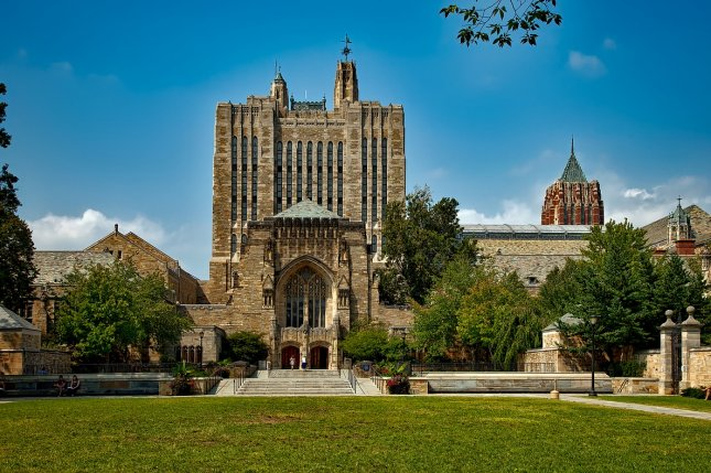 Yale University in New Haven, Conn., announced Monday that the admission of one unidentified student was rescinded in the wake of a college admissions scandal. File Photo courtesy of Pixabay