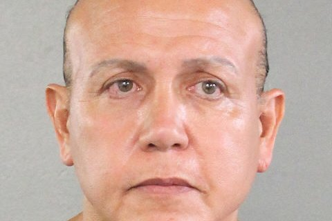 Cesar Sayoc's defense asked the court for a 10-year jail term, while prosecutors are asking for life. Photo courtesy Broward County Sheriff's Office