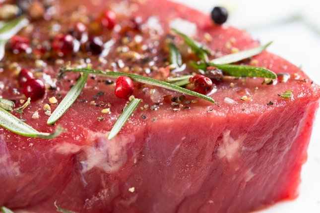 Consumption of red meat associated with slight increase in risk for heart disease, study finds. File photo by gate74/Pixabay