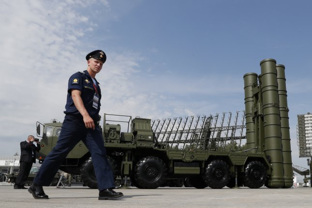 Russia deployed S-400 missile systems on the Crimean peninsula in the wake of the latest crisis with Ukraine. Photo by Yuri Kochetkov/EPA/EFE
