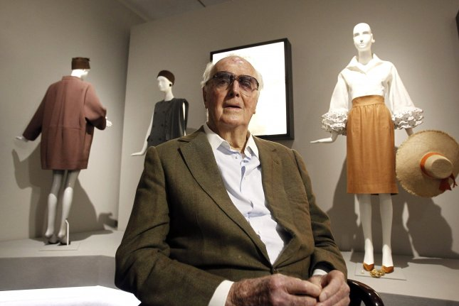 Hubert de Givenchy died Saturday, March 10 at his home outside Paris. File Photo by Kiki Huesca/EPA-EFE