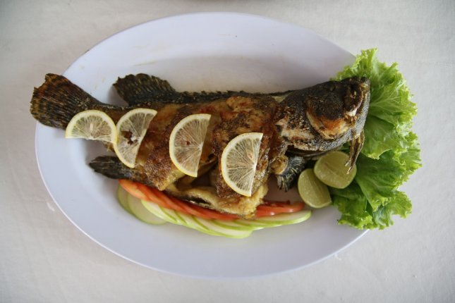 Diets high in fish with omega-3 fatty acids may lower the risk for more serious complications or even death in people with heart disease. Photo by aniamineeva/Pixabay