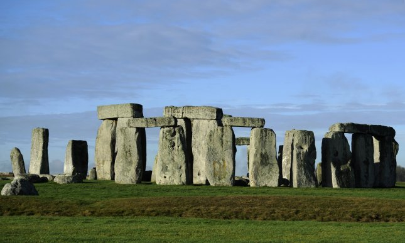 A view at Stonehenge, the 5,000 year old stone circle, near Amesbury, Britain. File Photo by Facundo Arrizabalaga/EPA-EFE