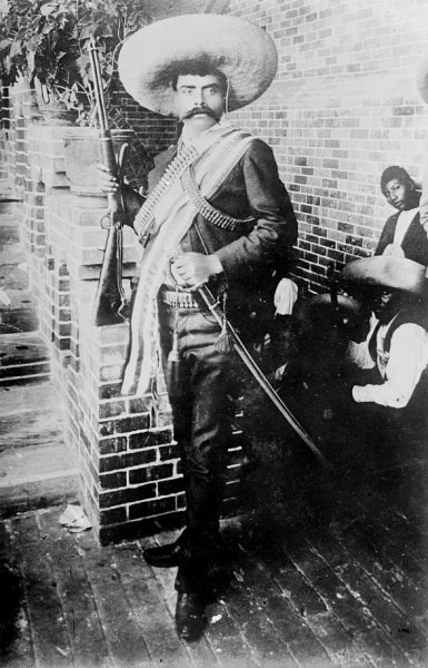 On April 10, 1919, Emiliano Zapata, a leader of peasants and indigenous people during the Mexican Revolution, was ambushed and killed in Morelos by government forces. File Photo courtesy of the Library of Congress