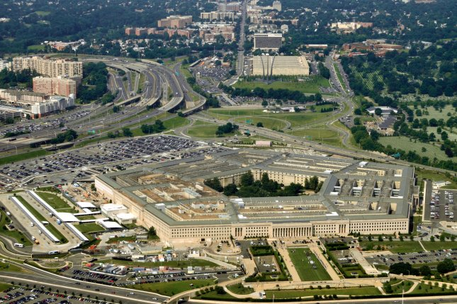 An aerial photo of the U.S. Department of Defense in Washington, D.C., also known as the Pentagon. Photo by Shutterstock.com