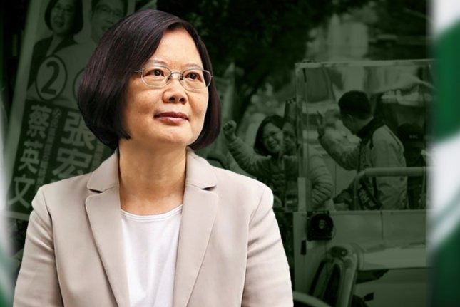 The office of Taiwanese President Tsai Ing-wen offered condolences to people affected by floods in central China. File Photo courtesy of Voice of America