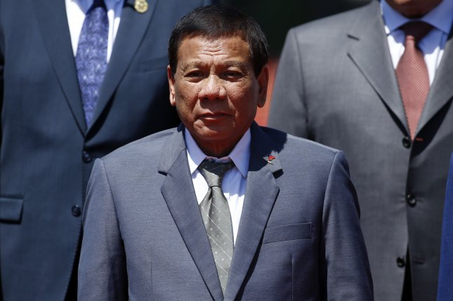 Rodrigo Duterte of the Philippines is turning down aid from Europe as he continues to build a strong rapport with Chinese President Xi Jinping. Photo by Damir Sagolj/EPA/Pool