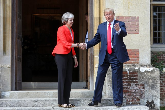 Donald Trump claims relationship with Theresa May is 'very good'