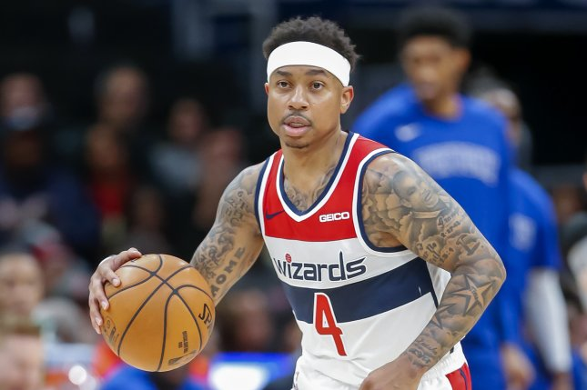 Former Washington Wizards guard Isaiah Thomas was traded to the Los Angeles Clippers as part of a three-team trade involving the New York Knicks and Wizards. The Clippers planned to waive him following the trade. File Photo by Erik S. Lesser/EPA-EFE
