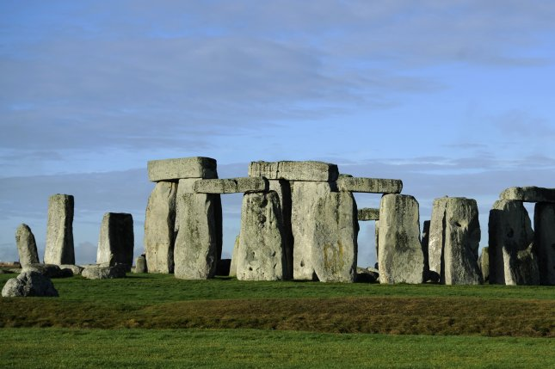 Stonehenge, the prehistoric monument near Amesbury, Britain, is shown. File Photo by Facundo Arrizabalaga/EPA-EFE