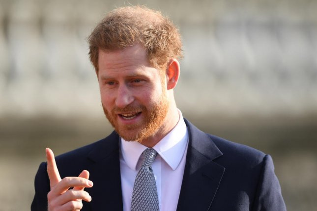 Prince Harry will appear in The Me You Can't See: A Path Forward, a new special premiering Friday on Apple TV+. File Photo by Neil Hall/EPA-EFE